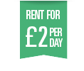 Rent for £2 a Day