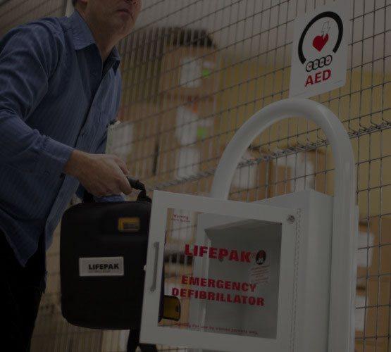 LifePak Automatic Defibrillator