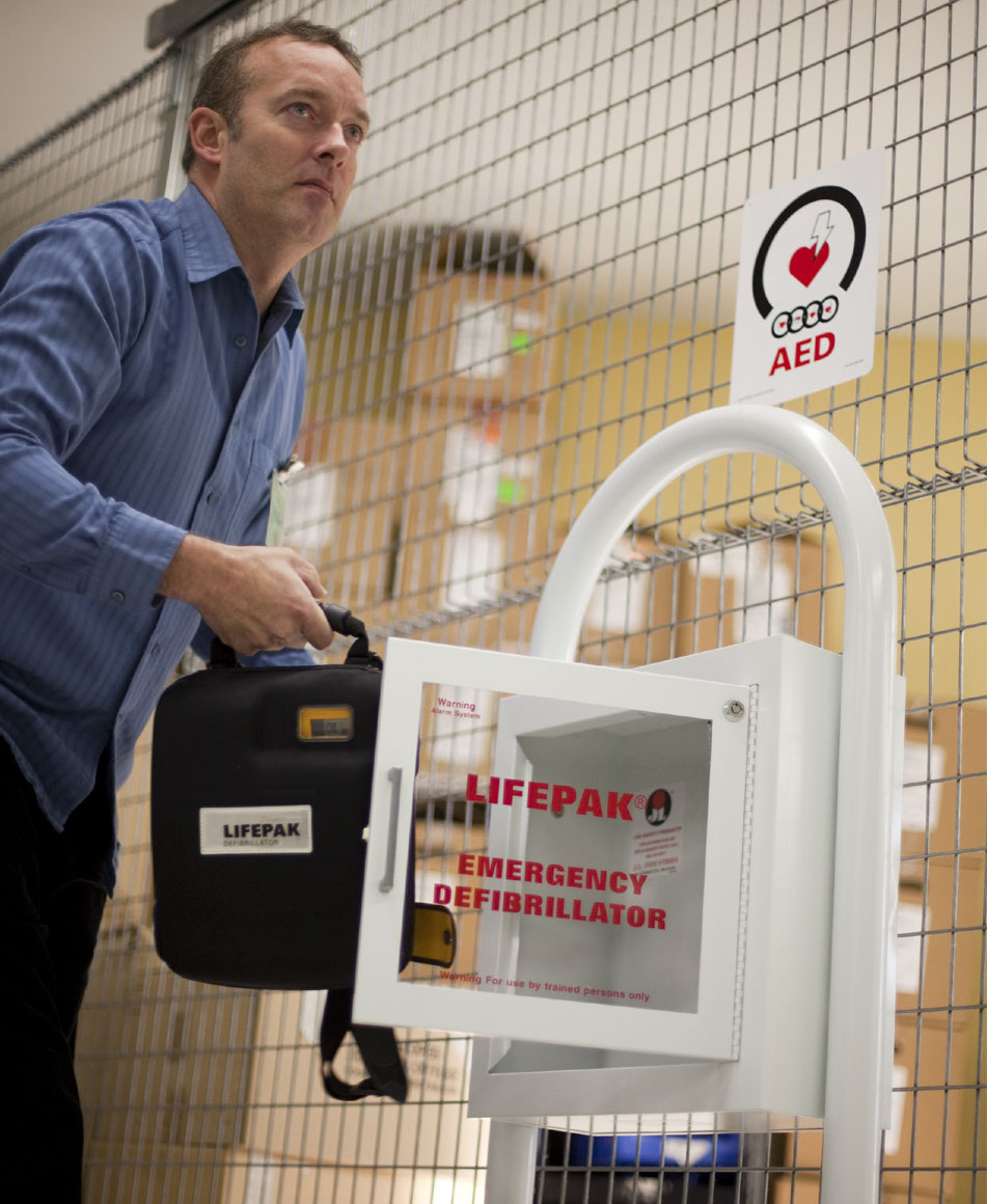 Defib machines for public places