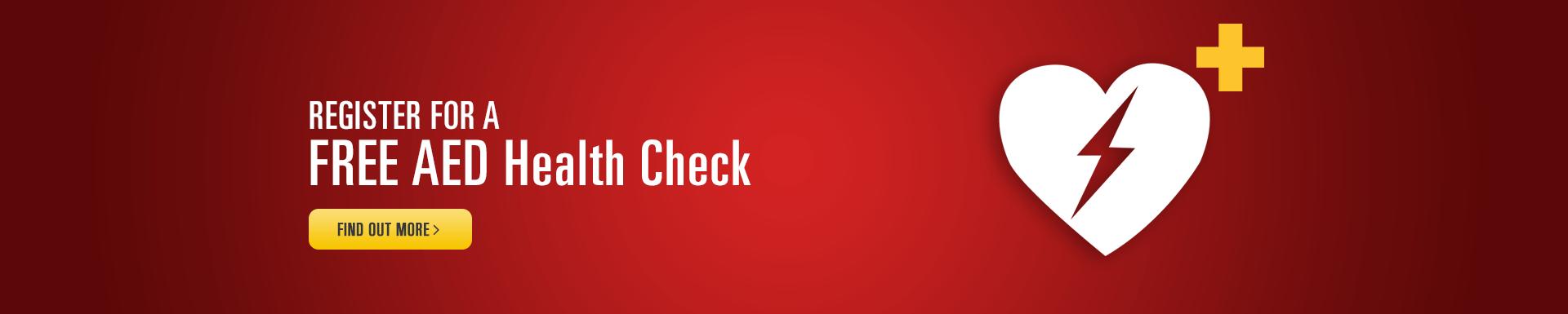 Defibrillator Health Check