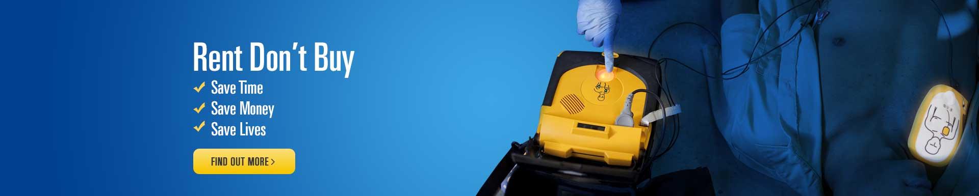 Defibrillator Rental