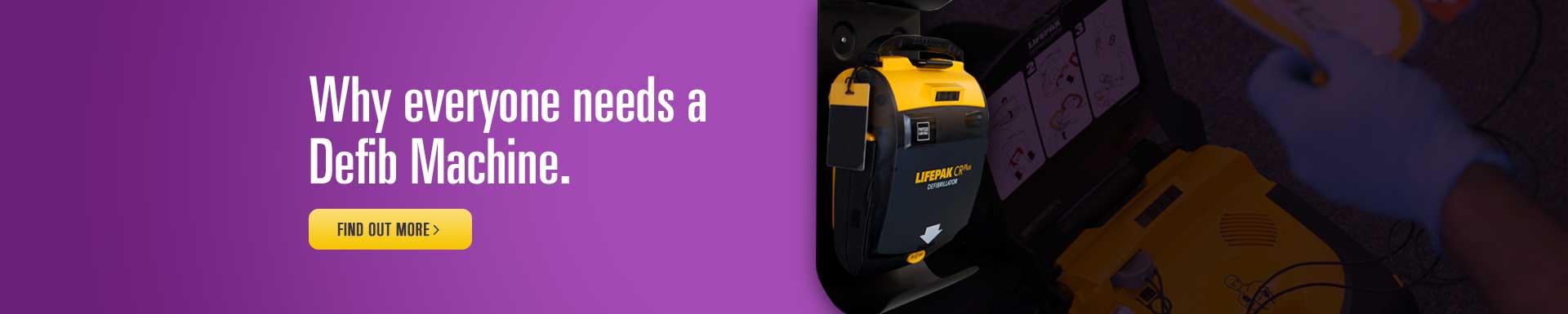Why Everyone needs a defibrillator