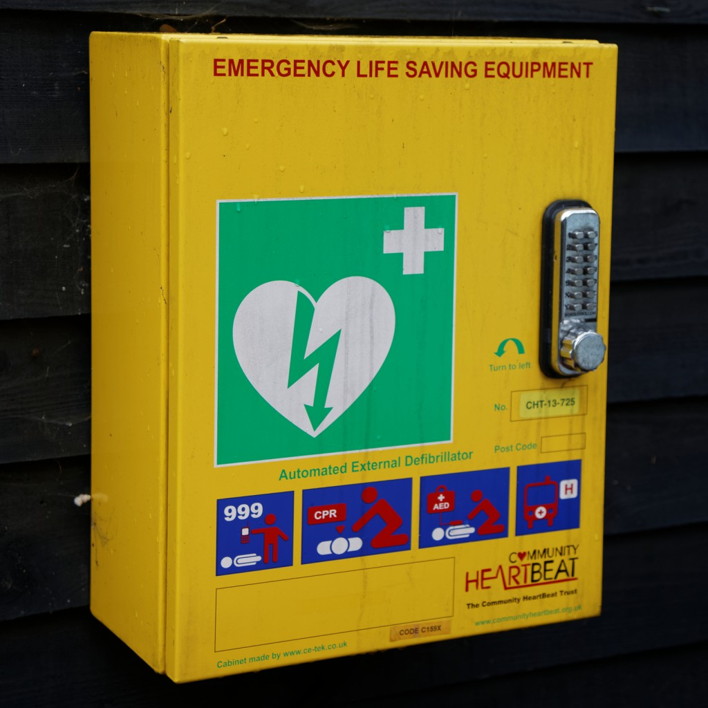 Defibrillators To Lock Or Not Defib Machines